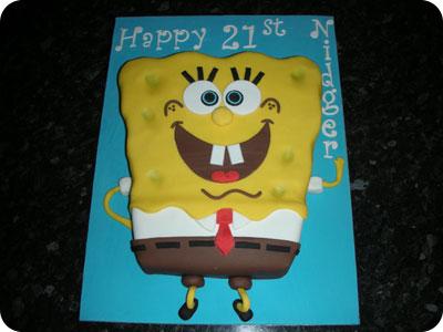 Jcakehomemadespongebob Squarepants Birthday Cake